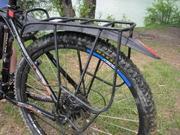 Велобагажник под диски  - жесткий и надежный